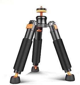 Bestshoot Desktop Mini Tripod Load 3KG Universal 3 Legs Monopod Base Stand Unipod Support Compatible with Canon 60D 6...