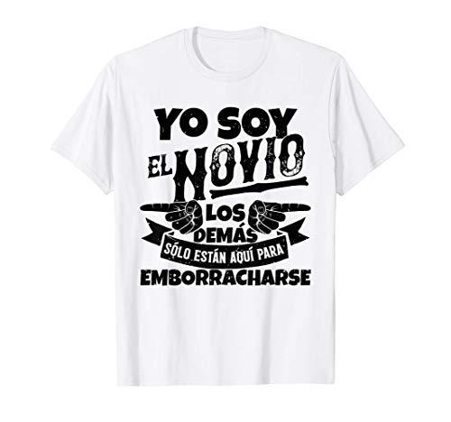 Hombre Despedida de soltero, set de camisetas, 1/3 Yo soy el novio Camiseta