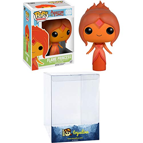 Flame Princess: Funk o Pop! TV Vinyl Figure Bundle with 1 Compatible 'ToysDiva' Graphic Protector (302 - 06976 - B)