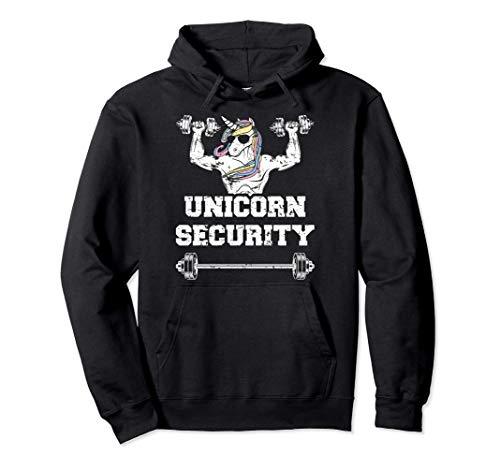 Unicorn Security Shirt Daughters' Unicorn Birthday Party Sudadera con Capucha