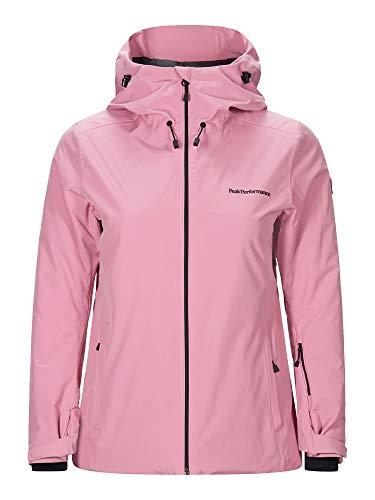 Peak Performance W Anima Jacket Pink, Damen Regenjacke, Größe S - Farbe Frosty Rose