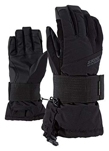 Ziener Kinder Merfy Junior Glove Sb Snowboard-handschuhe, black/black, XS