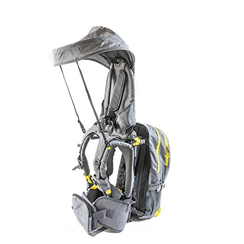 OE Hiking Carrier for Child and Toddler with Sunshade and Detachable Backpack by Our Expedition