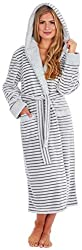 ✅ KATE MORGAN Ladies Soft Luxurious Hooded Stylish Dressing Gown ✅ BRILLIANTLY SOFT & COMFY: Our ladies dressing gowns are super soft and comfy, allowing you excellent comfort on those chilly days and when the weather is cooler. They are hooded to ke...