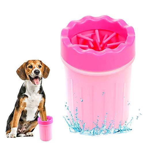 WELLXUNK® Limpiador Patas Perro Mascota, Mascota portátil Limpiador, Taza de Limpieza para...
