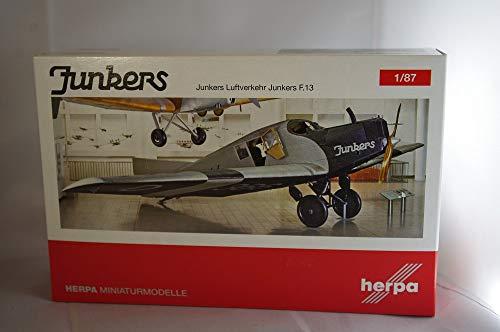 Herpa 019378 Fahrzeug Junkers Luftverkehr, Deutsches Museum München F13-D-366