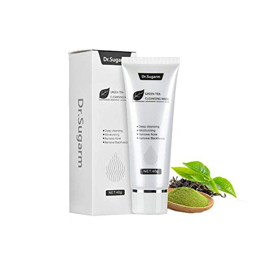 Green Tea Face Peel Mask Blackhead Remover Acne Deep Cleansing Mask Skin Care Mask Exfoliating & Repair,Reduces Fine Lines& Wrinkles,for Any Skin Types