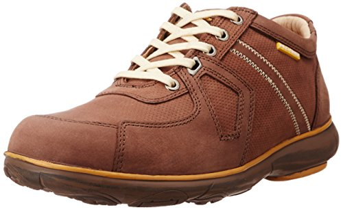 Redchief Men's Dark Brown Leather Trekking and Hiking Footwear Shoes - 6 UK/India (39 EU) (RC2892)