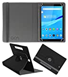 Acm Designer Rotating Leather Flip Case Compatible with Lenovo Tab M8 (WiFi) Cover