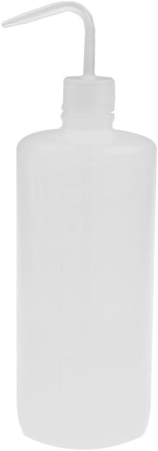 1000ml Quetschflasche Mundwaschflasche zum waschen von Laborutensilien Fl/üssigseifenspender Leerflasche Plastikflasche Sharplace 1 STK Wei/ß