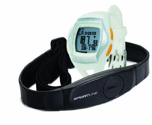 Sportline Duo 1060 Frauen, Geschwindigkeits-, Distanz,- Herzfrequenz-, Uhr, Pulsuhr, Herzfrequenzmesser