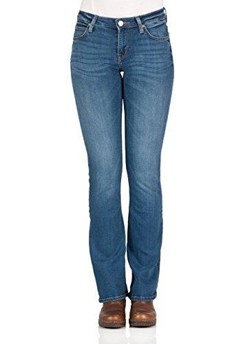 Lee Skinny Boot, Jeans Mujer, Azul (Midtown Blues), W24/L31 (Talla del fabricante: 24)