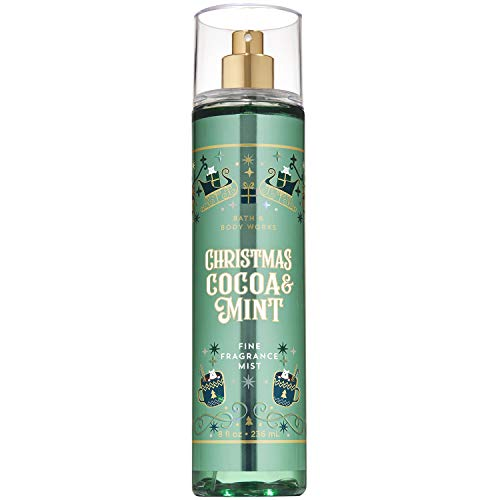 Bath and Body Works Cocoa Mint Fine Fragrance Mist 8 Ounce 2019 Limited Edition