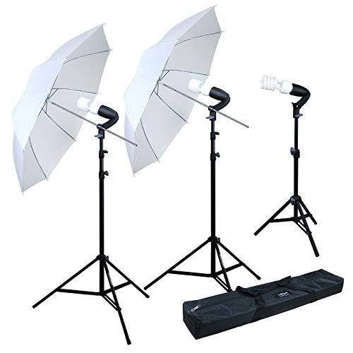 Linco Lincostore Photography Photo Portrait Studio 600W Umbrella Continuous Lighting...