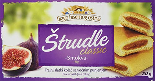 Zitoprerada Strudel mit Feige Teegebäck (1 x 252 g)
