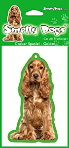 Cocker Spaniel  Golden Red  Dog Gift Delightful Car Air Fresheners
