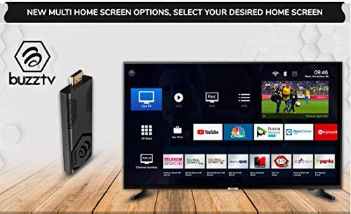 BuzzTV Vidstick ST4000 Android Stick 4K Ultra HD Android 9.0 InternetTV 2GB RAM 16GB HDMI