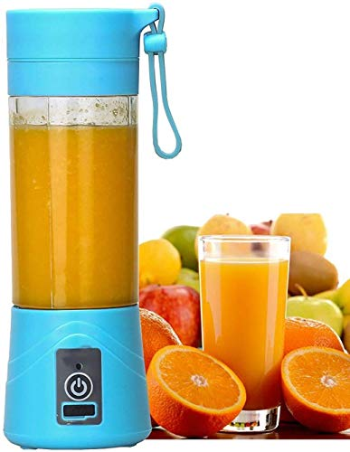 Rylan Rechargeable Portable Travel Electric Mini USB Juicer Bottle Blender for Making...