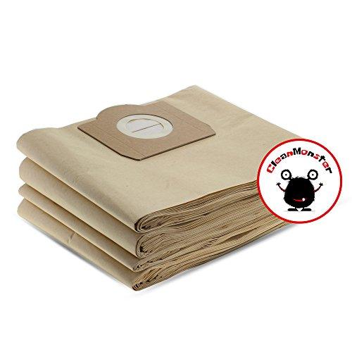 CleanMonster - 20 sacchetti per aspirapolvere compatibili con Kärcher 6.959-130.0/69591300