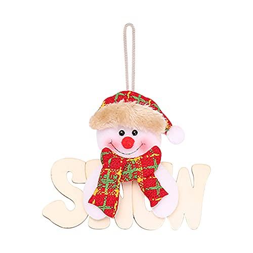 CHUXI 2021 Ornamenti di Natale per la casa Decorazione Albero Ornamenti