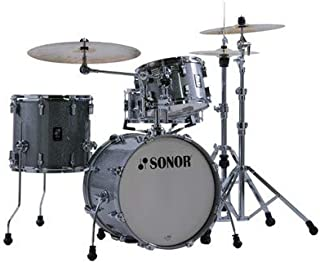 Sonor AQ2 Bop 4-Piece Shell Pack with Snare - Titanium Quartz