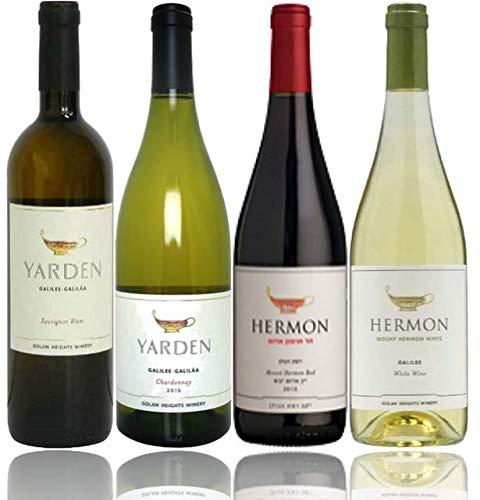 ヤルデン人気シリーズ4本セット【Yarden】【イスラエルワイン】【イスラエル産・白ワイン×3・赤ワイン×1・辛口・750ml】