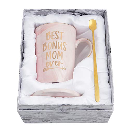 Mothers Day Gifts - Best Bonus Mom Ever Coffee Mug - Gifts for...