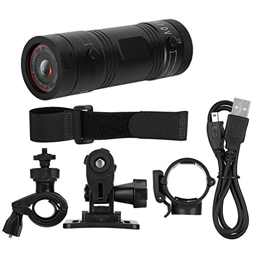 FEBT Cámara de la acción, cámara Impermeable al Aire Libre de DVR, Portable 1080P de la Vivienda del Metal para el Coche Deportivo