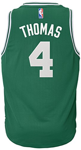 NBA by Outerstuff Boston Celtics Isaiah Thomas Youth Boys Player Swingman Jersey-Road, Youth Large (12-14)