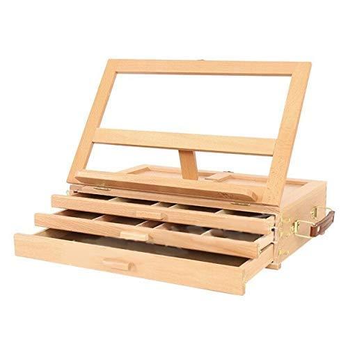 Base de madera de cajón de almacenamiento de escritorio de
