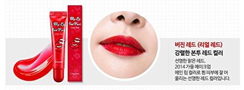 BERRISOM Chu My Lip Tint Pack, New upgraded Season 3, Made in Korea, Korean Cosmetics (Real Red) by Berrisom