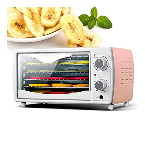 Lowest Prices! Electric Food Dehydrator Household Dried Fruit Vegetables Meat Beef Dehydrator Pet Me...