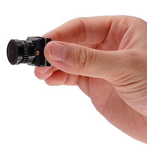 Amyove FPV Kamera 1/1.8 800TVL HD CCD 2.3mm 5MP OSD Taste DC 5-.30V NTSC PAL Einstellbarer Winkel Umschaltbare Kamera Für RC Quadcopter Drone Schwarz