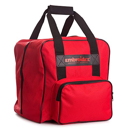 Embroidex RED SERGER/OVERLOCK Carrying Case - Carry Tote/Bag Universal