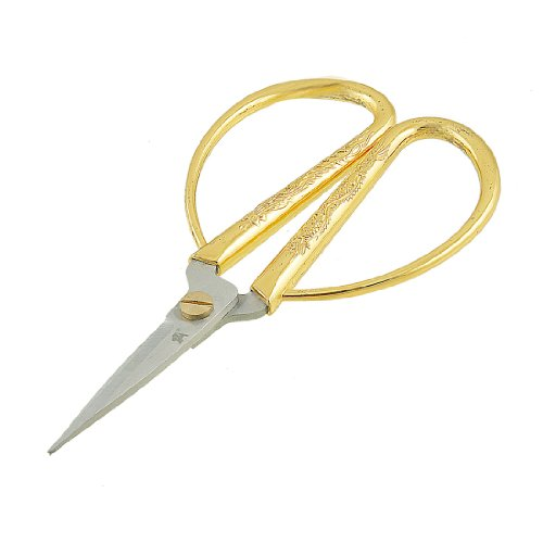 Aexit Geschnitzt Gold Baumarkt Ton Drachen Metall Griff Elektro- & Handwerkzeuge Bonsai Schere