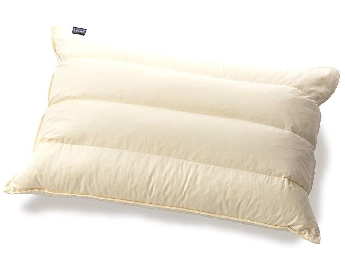 無効にする幸運流産パイプ羽根枕 ホテル?旅館で人気の枕 丸八真綿の至福の眠り