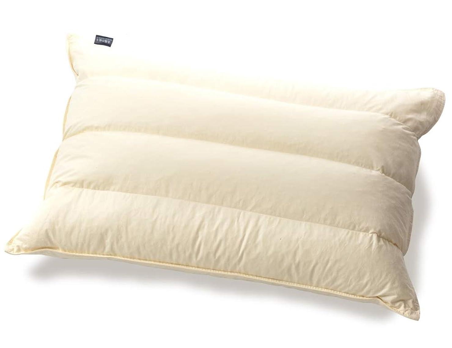 通信する入手します可能にするパイプ羽根枕 ホテル?旅館で人気の枕 丸八真綿の至福の眠り