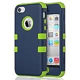 ULAK Coque iPhone 5c, iPhone 5c Case Housse de Protection Anti-Choc Matériaux...