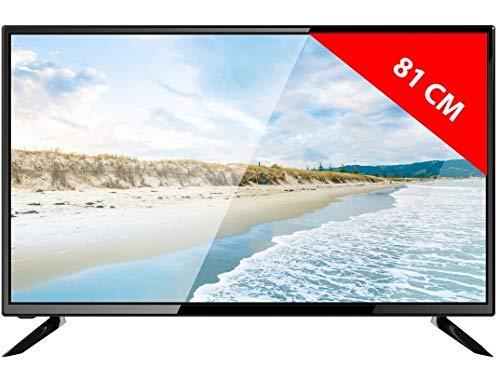 Téléviseur LED Full HD 81 cm Leader LE-CTV3200FHD - TV LED 32 Pouces - Enregistrement PVR (sur USB) - Prise Casque - Son 2 x 8