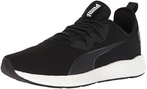 PUMA Men's NRGY Neko Sport Sneaker, Black White, 11 M US
