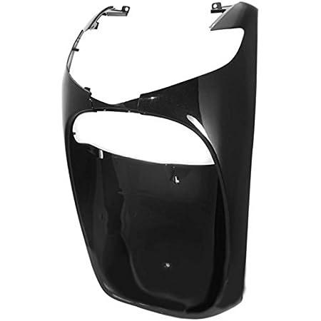 rif. orig. Honda 61100-KTF-640 one by Camamoto cod 77366854D plastica scudo anteriore carena inferiore di colore argento perla compatibile con Honda-Sh i 125-150 anno 2005-2006-2007-2008
