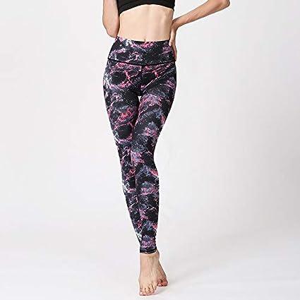 GUOYXUAN Ejecución de Entrenamiento de Fitness Pantalones de ...