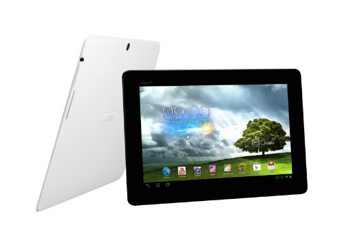 Asus MeMO Pad Smart ME301T 25,7 cm (10,1 Zoll) Tablet-PC (NVIDIA Tegra 3, 1,3GHz, 1GB RAM, 16 GB EMMC, 5 GB Webspace, 12-Core GeForce, USB 2.0, Android 4.1) weiß