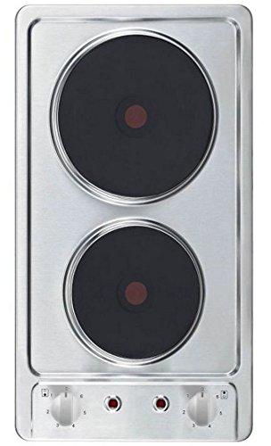 PKM KF-GE-2F Kochfeld Autark Doppelkochplatte Doppelkochfeld Edelstahl