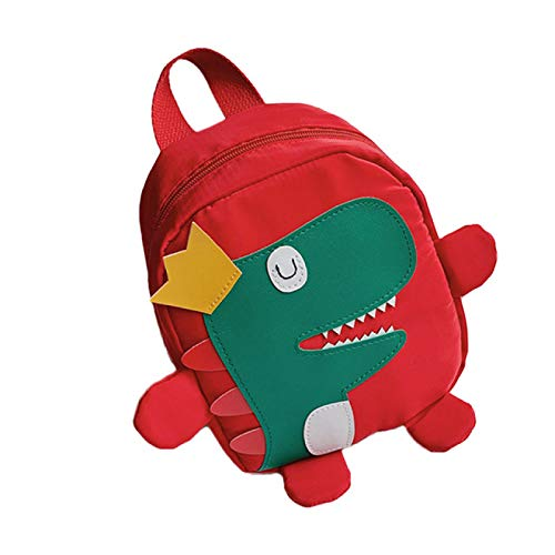 IADZ Cartoon bag, cute kid kids kindergarten school bag 3D cartoon dinosaur mini backpack baby boy girl school bag school bag