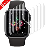 SHINEZONE Apple Watch Series 5/4/3/2/1 38mm~40mm フィルム 【5枚入り】 TPU製 曲面を全面カバー 「指の滑りも良く」「簡単に剥がれ」「気泡自己修復」「ホコリ・擦り傷対策」「指紋防止」