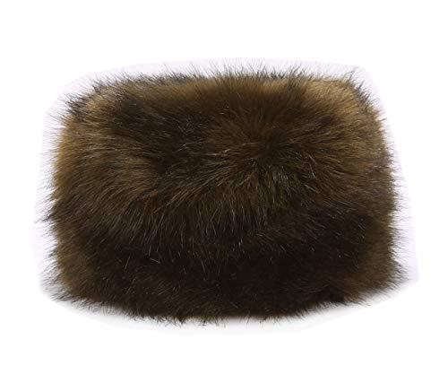 Lucky Leaf Lucky Leaf Dicke Cossak warme weiche Kappe russischen Stil Winter Hut Ohrenschützer für Damen Frauen (H-Armeegrün)