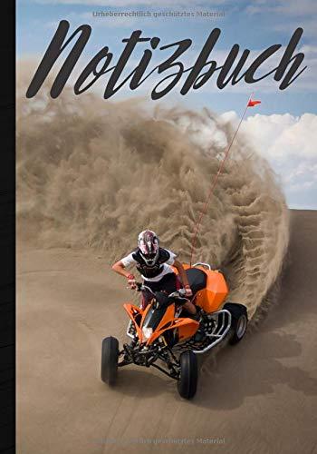 Notizbuch: Heft für Quad-Fan, schreiben Sie alle Ihre Notizen und Ideen aus dem Alltag - hochwertig liniertes Journal - ideales Geschenk für Motorrad- ... | 100 Seiten im Format 7*10 Zoll