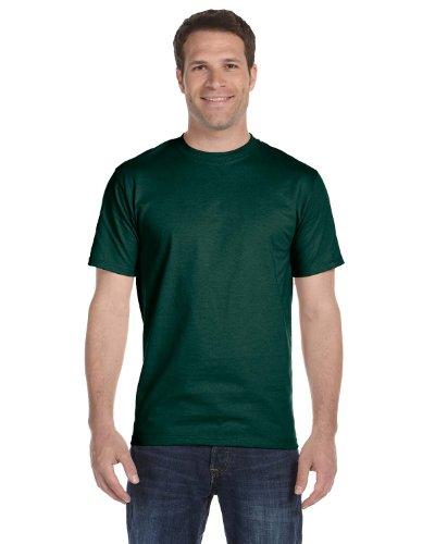 Gildan Mens DryBlend 50 Cotton/50 Poly T-Shirt, 3XL, Forest