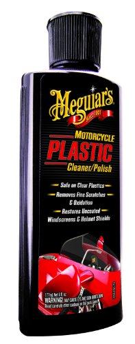 Meguiar's MC20506 Motorcycle Plastic Cleaner/Polish - 6 oz.